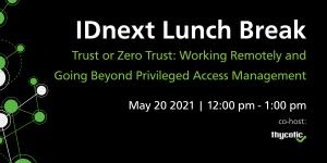 IDnext Lunch Break 20 May