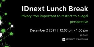 IDnext Lunch Break 2 December 2021